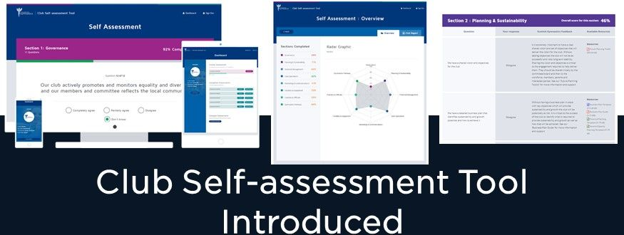 Club Self-assessment Tool Introduced